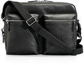 Shinola Zip Top Messenger Bag