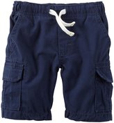Carter's Mid Tier Shorts (Baby) - Navy-12 Months