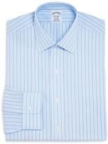 Brooks Brothers Stripe Non-Iron Regent Classic Fit Dress Shirt