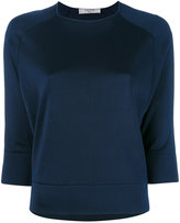 Lanvin subtle sheen top - women - Viscose - S