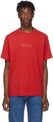 Levi's Levis Red Relaxed Logo T-Shirt