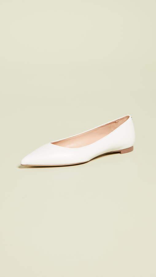 ab6bb977ab9c Sam Edelman Pointed Toe Flats - ShopStyle