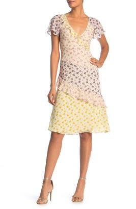 Joie Orita B Floral Silk Dress