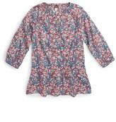 Tea Collection Azuma Floral Print Drop Waist Top (Toddler, Little Girls, & Big Girls)