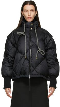 MONCLER GENIUS 2 Moncler 1952 Black Down Francesca Diamond Jacket