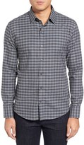 Zachary Prell Men's Trim Fit Check Sport Shirt