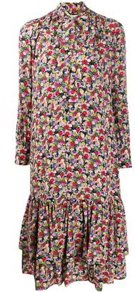 La DoubleJ Good Witch floral print dress