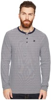Hurley Lookout Dri-Fit Long Sleeve Henley Men's Long Sleeve Pullover