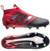 adidas Men's ACE 17+ PURECONTROL Soccer Cleat (, Red/White/Black)