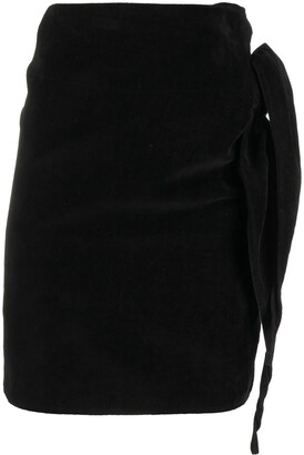 Comme Des Garçons Pre-Owned 2000s High-Waisted Wrap Skirt