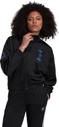 adidas Women's Iridescent Large Trefoil Track Jacket