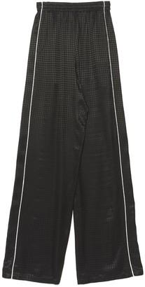 Balenciaga Check Print Sweatpants