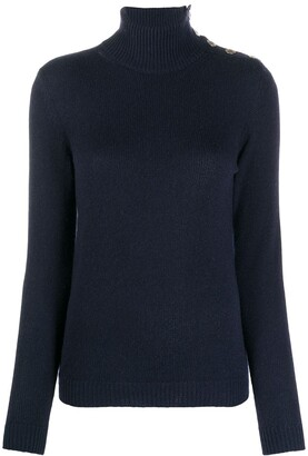 Ralph Lauren Collection Roll-Neck Cashmere Jumper