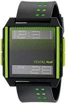 Vestal Unisex DIG034 Digichord Digital Display Quartz Black Watch