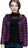 CHERRY CHICK 2016 Women's Packable Hooded Down Jacket