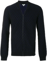 Kenzo quilted effect cardigan