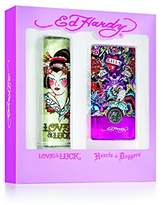 Ed Hardy Duo Ladies Gift Set