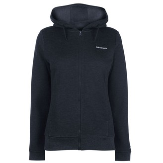 L.A. Gear Womens FZ Hoody Ladies Long Sleeve Full Zip Casual Hoodie Sweat Top Navy 14 (L)
