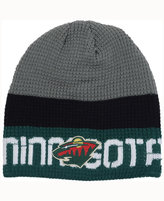 Reebok Minnesota Wild Player Knit Hat