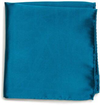 Nordstrom Solid Silk Pocket Square