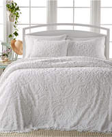 Victoria Classics Allison White Tufted 3-Pc. King Bedspread Set Bedding