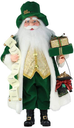 "Windy Hill Collection 16"" Irish Santa"