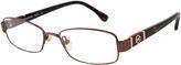 Michael Kors Burgundy Square Eyeglasses