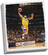 """Steiner Sports Los Angeles Lakers Kobe Bryant Dunk 32"""" x 40"""" Stretched Canvas"""