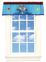 Nintendo Super Mario Start Your Engine Microfiber Valance, 50-inch by 17-inch