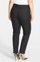 Vince Camuto Two by Skinny Jeans (Black Denim) (Plus Size)