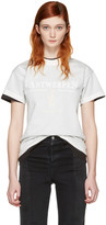Vetements White Hanes Edition Fitted Double antwerpen T-shirt