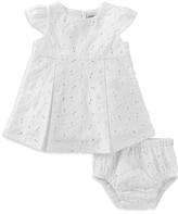 Absorba Girls' Eyelet Dress & Bloomers Set - Baby