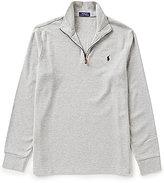 Polo Ralph Lauren Double-Knit Jacquard Quarter-Zip Pullover