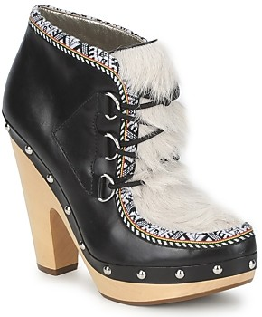 Belle by Sigerson Morrison BLACKA women's Low Boots in Black