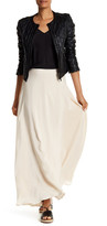 Anine Bing Silk Maxi Skirt