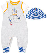 Little Marc Jacobs whale print babygrow set - kids - Cotton - 3 mth