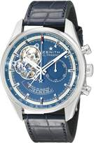 Zenith Men's 0320854021.51C El Primero Analog Display Swiss Automatic Watch