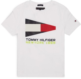 Tommy Hilfiger Junior Sailing Flag T-Shirt (4-16 Years)