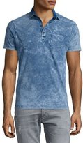 Diesel Short-Sleeve Polo Shirt, Light Blue