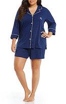 Lauren Ralph Lauren Plus Jersey Pajamas