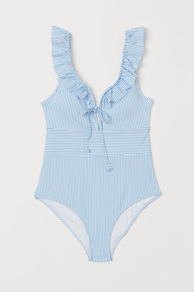 H&M Swimsuit with Ruffles