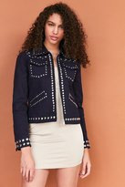 Ecote Studded Zip-Up Jacket