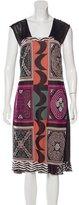 Etro Sleeveless Intarsia Dress