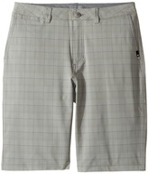 Quiksilver Union Plaid Amphibian Shorts Boy's Shorts