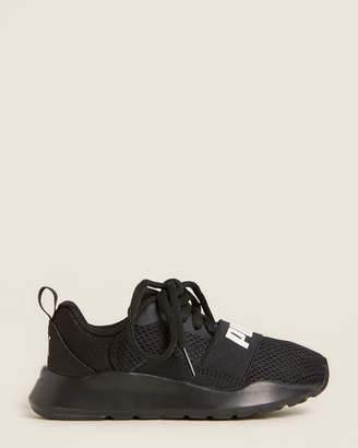 Puma (Toddler/Kids Boys) Black Wired Running Sneakers