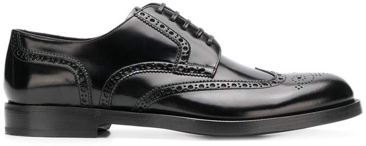 Dolce & Gabbana varnished oxford shoes