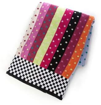 Mackenzie Childs Ribbon & Dot Bath Sheet