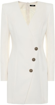 Balmain Wool minidress