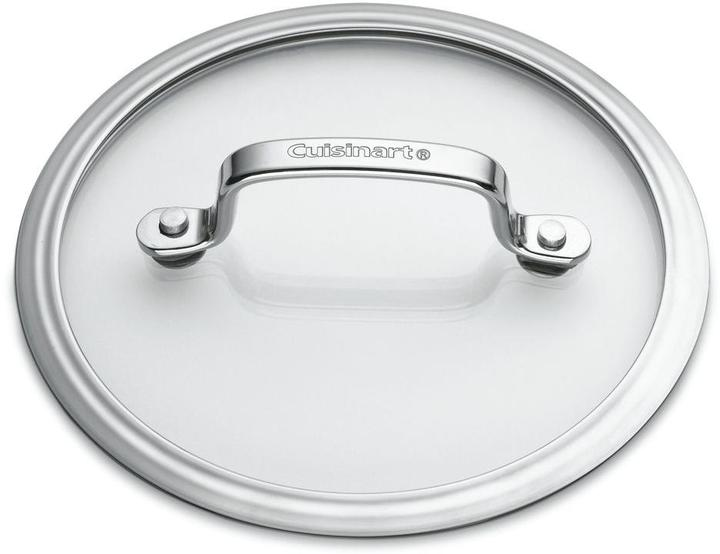 Cuisinart Contour 13-Piece Stainless Cookware Set with Lids