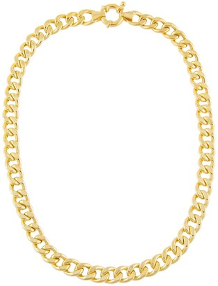 Adina's Jewels Miami Curb Link Choker Necklace